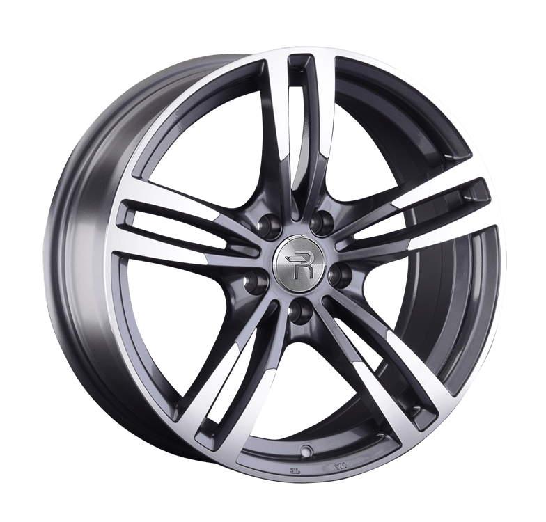 Диск колесный REPLAY A119 9xR20 5x112 ET20 ЦО66,6 серый глянцевый с полированной лицевой частью 080474-160019006