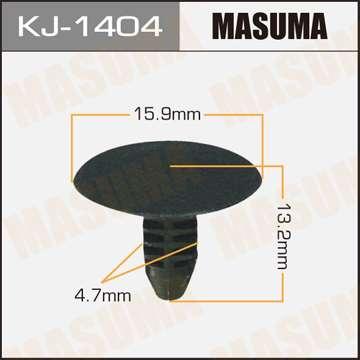 Клипса автомобильная (автокрепеж), уп. 50 шт. Masuma KJ-1404