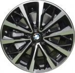 Диск колесный R19 BMW Double spoke 573 36116856074 сильвер металлик BMW X1 (F48) 2015-