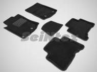 Коврики салона текстильные 3D, черные Seintex 85978 Lexus GX460 2010 - 2013