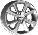 Диск колесный Carwel Пено 139 6xR15 4x100 ET46 ЦО54.1 серебристый металлик 101758