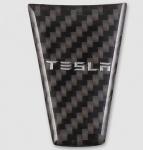 Вставка в руль (черный карбон) GPPower 48484 для Tesla Model S (2012 - 2016)