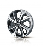 Колесный диск легкосплавный R16 Hyundai Kia 52910H0200 для Kia Rio 2017-
