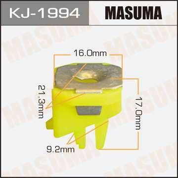 Клипса автомобильная (автокрепеж), уп. 50 шт. Masuma KJ-1994