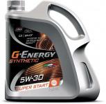 Моторное синтетическое (Synthetic Super Start 5W-30 кан. 4л. ACEA C3 API SN/CF) G-energy 253142400
