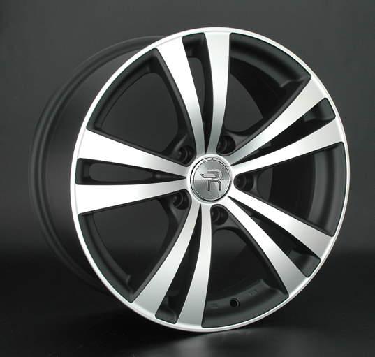 Диск колесный REPLAY B92 7,5xR17 5x120 ET34 ЦО72,6 черный матовый с полированной лицевой частью 029081-160023001