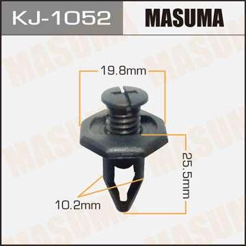 Клипса автомобильная (автокрепеж), уп. 50 шт. Masuma KJ-1052