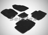 Коврики салона текстильные 3D, серые Seintex 85860 Toyota RAV4 2015-