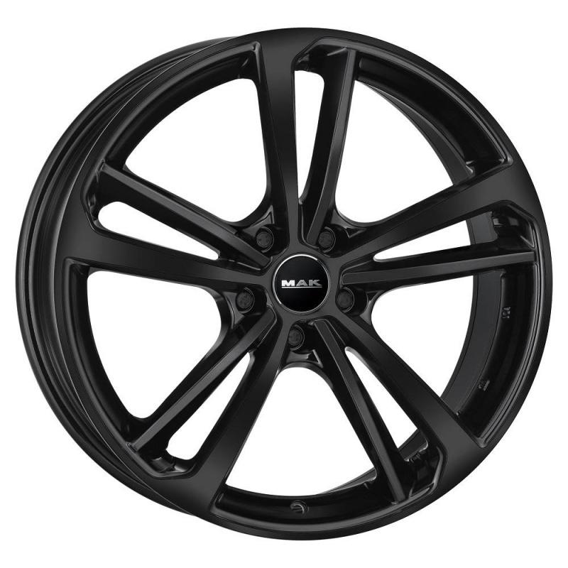 Диск колесный MAK Nurburg 8,5xR20 5x108 ET45 ЦО63,4 черный глянцевый F8520NBGB45GD3X