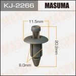 Клипса автомобильная (автокрепеж) салонная серая, уп. 50 шт. Masuma KJ-2266