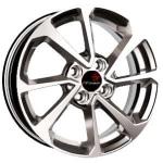 Диск колесный Remain R203 7xR17 5x114.3 ET45 ЦО60.1 алмаз черный 20304AR