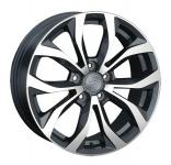 Диск колесный Replay KI300 7xR18 5x114,3 ET40,5 ЦО67,1 серый глянцевый с полированной лицевой частью 080333-070146004