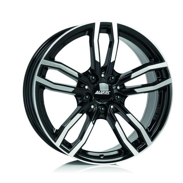 Диск колесный Alutec Drive 8xR17 5x120 ET34 ЦО72,6 черный глянцевый с полированной лицевой частью DRV80734W33-1