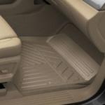 Коврики салона передние (резиновые, Dune) 23452758 для Chevrolet Tahoe IV 2015-