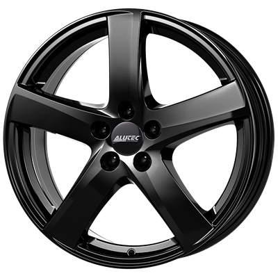 Диск колесный Alutec Freeze 7,5xR18 5x112 ET33 ЦО66,5 черный глянцевый FRE75833M82-6
