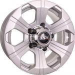 Диск колесный Tech-Line 547 8xR15 6x139.7 ET0 ЦО110 серебристый rd832529