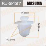 Клипса автомобильная (автокрепеж), 1 шт., Masuma KJ-2427