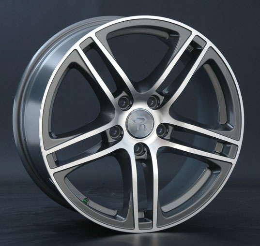 Диск колесный Replay A31 8xR18 5x112 ET39 ЦО66,6 серый глянцевый с полированной лицевой частью 032475-070019006