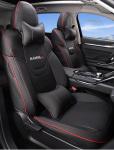 Чехлы на сидения (с подушками, черные) Haval H6 2021-