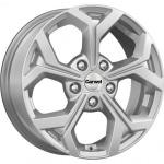 Диск колесный Carwel Орель 190 6.5xR16 5x114.3 ET50 ЦО67.1 серебристый металлик 101781