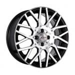 Диск колесный X'trike X-125 6,5xR16 4x100 ET48 ЦО60.1 черный полностью полированный 68192