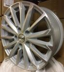 Диск колесный Carwel Тевриз 1611 6.5xR16 5x114.3 ET45 ЦО60.1 серебристый с полированной лицевой частью 097734