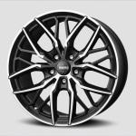 Диск колесный Momo Spider 10xR21 5x112 ET45 ЦО66.6 черный матовый с алмазной проточкой WSPB10145266