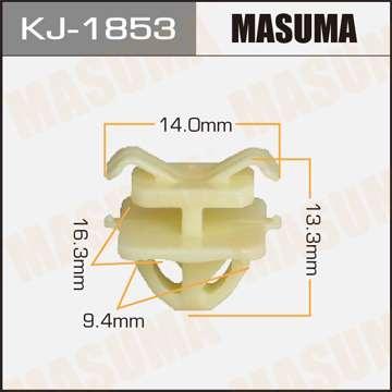 Клипса автомобильная (автокрепеж), уп. 50 шт. Masuma KJ-1853