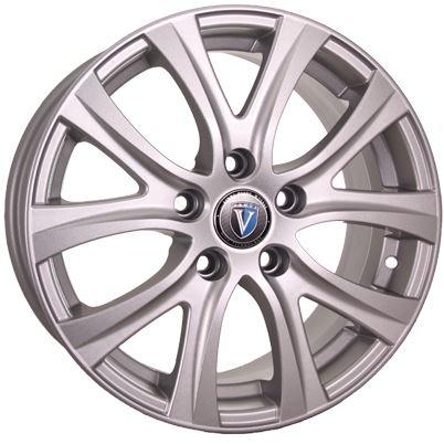 Диск колесный VENTI 1609V 6,5xR16 5x114,3 ET50 ЦО66,1 серебристый  V1609-6516-661-5x1143-50S