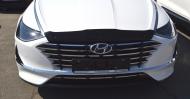 Дефлектор капота SIM для Hyundai Sonata 2019 -