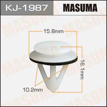Клипса автомобильная (автокрепеж), 1 шт., Masuma KJ-1987