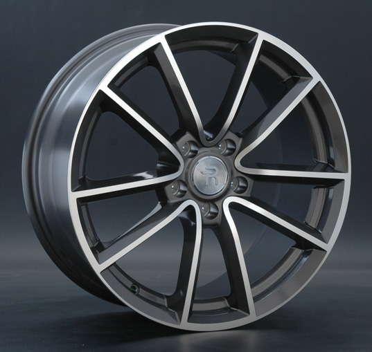Диск колесный Replay A41 8xR18 5x112 ET39 ЦО66,6 серый глянцевый с полированной лицевой частью 028844-070019006