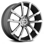 Диск колесный MOMO QUNATUM 9xR20 5x120 ET42 ЦО74.1 серый матовый с полированной лицевой частью 86856327026
