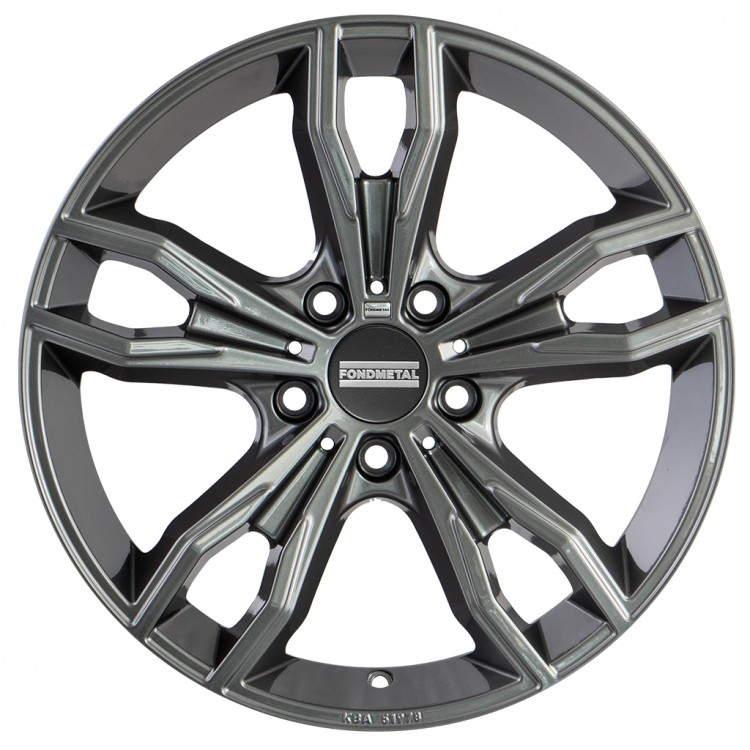 Диск колесный Fondmetal Alke 8xR18 5x112 ET30 ЦО66,5 серый глянцевый FMI02 8018305112RTI0