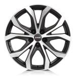 Диск колесный Alutec W10X 9xR20 5x108 ET43 ЦО70,1 черный с полированной лицевой частью W10-902043B53-5