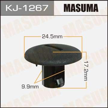 Клипса автомобильная (автокрепеж), уп. 50 шт. Masuma KJ-1267