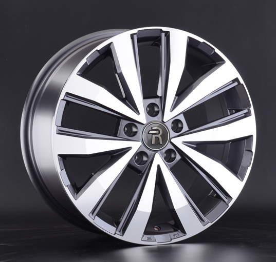 Диск колесный REPLAY VV202 7,5xR18 5x120 ET45 ЦО65,1 серый глянцевый с полированной лицевой частью 043315-160001006