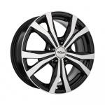 Диск колесный X'trike X-119 6.5xR16 5x114.3 ЕТ45 ЦО67.1 черный полированный 29149