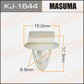 Клипса автомобильная (автокрепеж), уп. 50 шт. Masuma KJ-1644