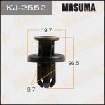 Клипса автомобильная (автокрепеж), уп. 50 шт. Masuma KJ-2552
