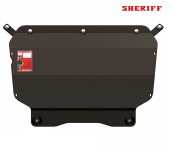 Защита картера SHERIFF 261503 для Volkswagen Tiguan (2007 - 2016)