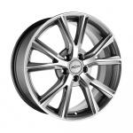 Диск колесный X'trike X-122 7.5xR18 5x105 ЕТ38 ЦО56.6 мрачно серебристый глубокий 63548