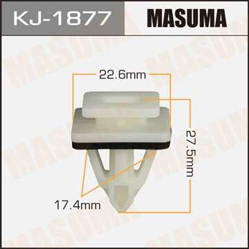 Клипса автомобильная (автокрепеж), уп. 50 шт. Masuma KJ-1877
