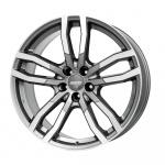 Диск колесный Alutec DriveX 9,5xR21 5x112 ET53 ЦО66,5 серый темный с полированной лицевой частью DRVX-952153M17-91