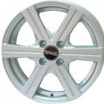 Диск колесный Tech-Line 414 5.5xR14 4x98 ЕТ35 ЦО58.6 серебристый T414-5514-586-4x98-35S