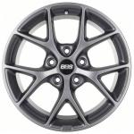 Диск колесный BBS SR011 7xR16 5x112 ET48 ЦО82 серый матовый 0356157#