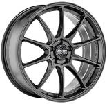 Диск колесный OZ Hyper GT HLT 7xR18 4x100 ET42 ЦО68 серый тёмный глянцевый W01A22202T6