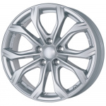 Диск колесный Alutec W10X 9xR20 5x114,3 ET35 ЦО70,1 серебристый W10-902035B81-0