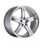 Диск колесный Lumarai Morro 8xR19 5x114,3 ET37 ЦО60,1 серебристый 1980LUM375114S60
