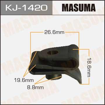 Клипса автомобильная (автокрепеж), 1 шт., Masuma KJ-1420